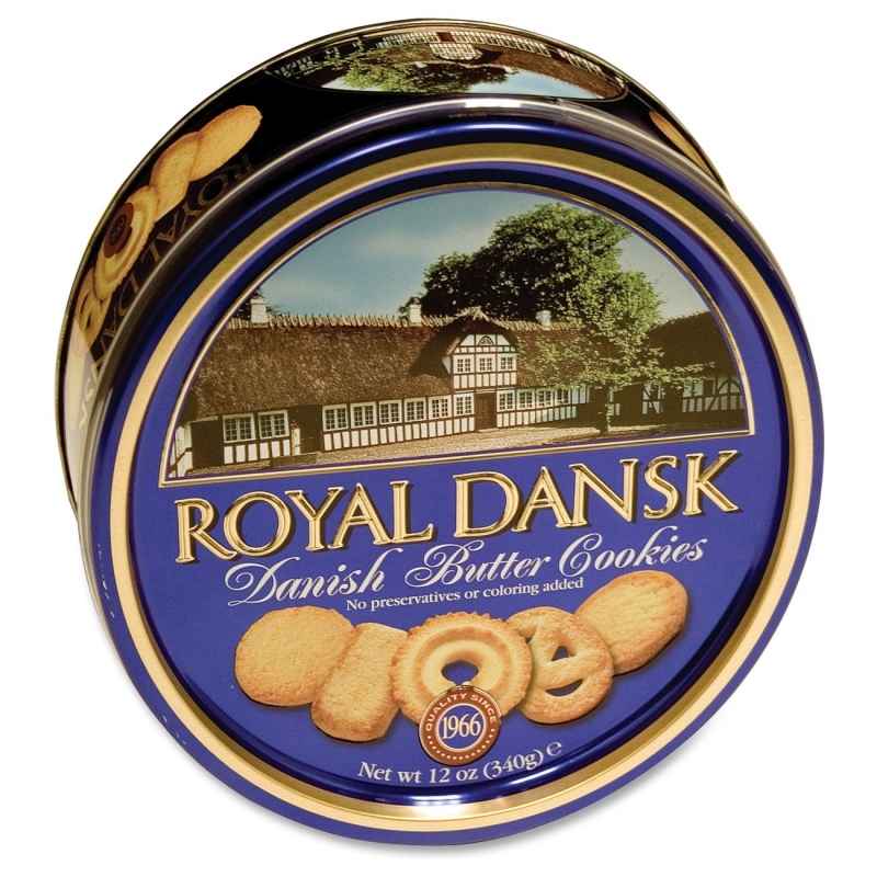 Campbell's Kelsen Group Danish Butter Cookies 40635 KLS40635