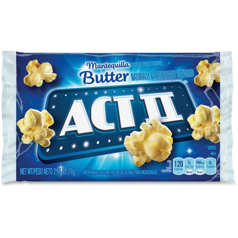 Act II Butter-Flavored Popcorn 23223 CNG23223