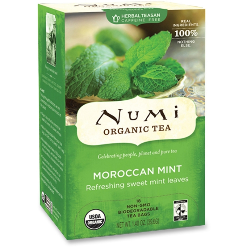 Numi Numi Simply Mint Tea 10104 NUM10104 680692