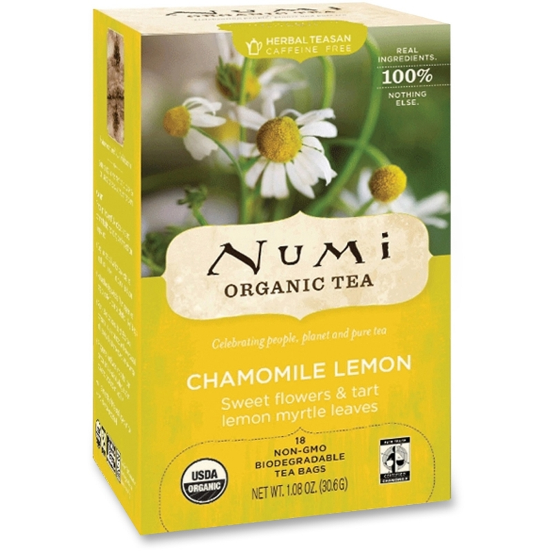 Numi Numi Chamomile Lemon Herbal Tea 10150 NUM10150 680692