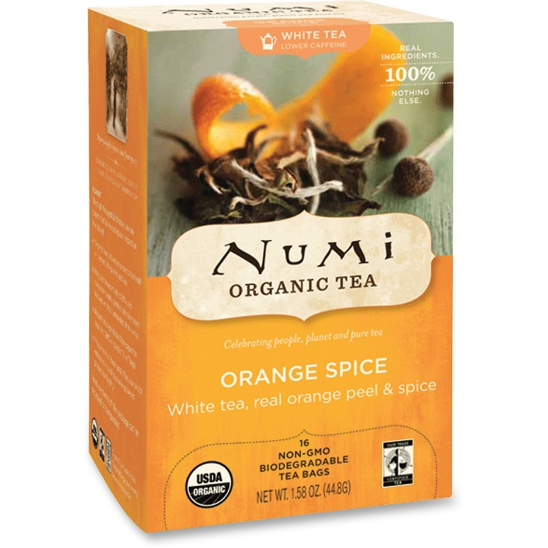 Numi Numi Orange Spice White Tea 10240 NUM10240 680692