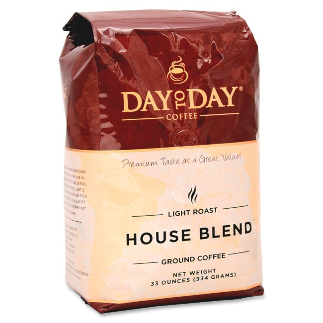 PapaNicholas Coffee Coffee, Ground, 33oz., Day To Day House Blend Ground 33100 PCO33100