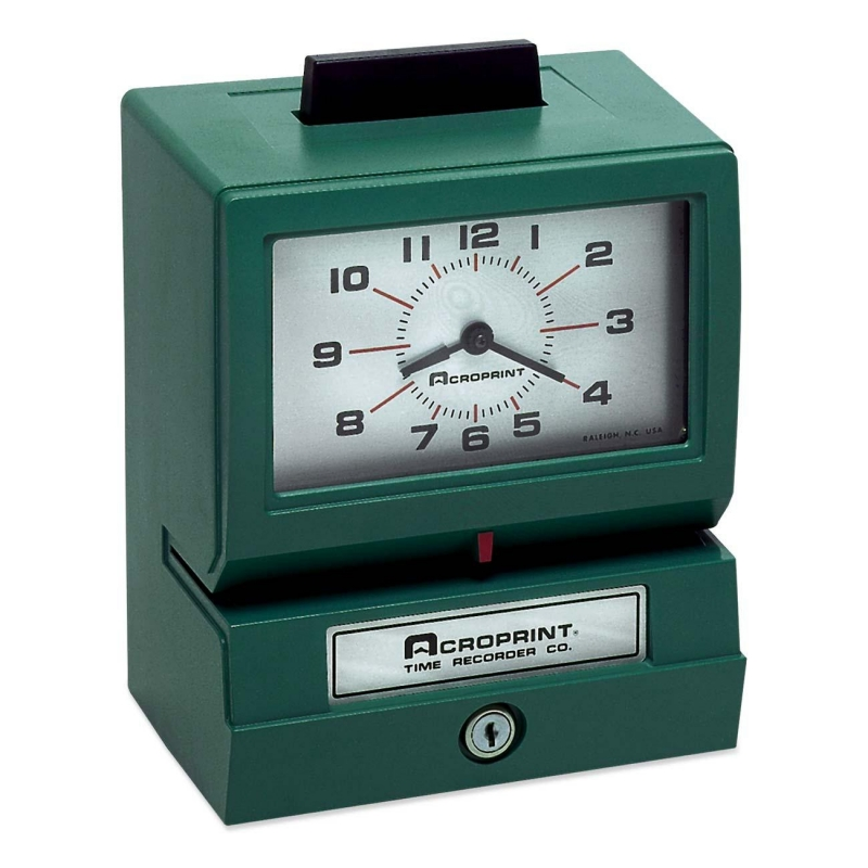 lathem time clock 7500e manual