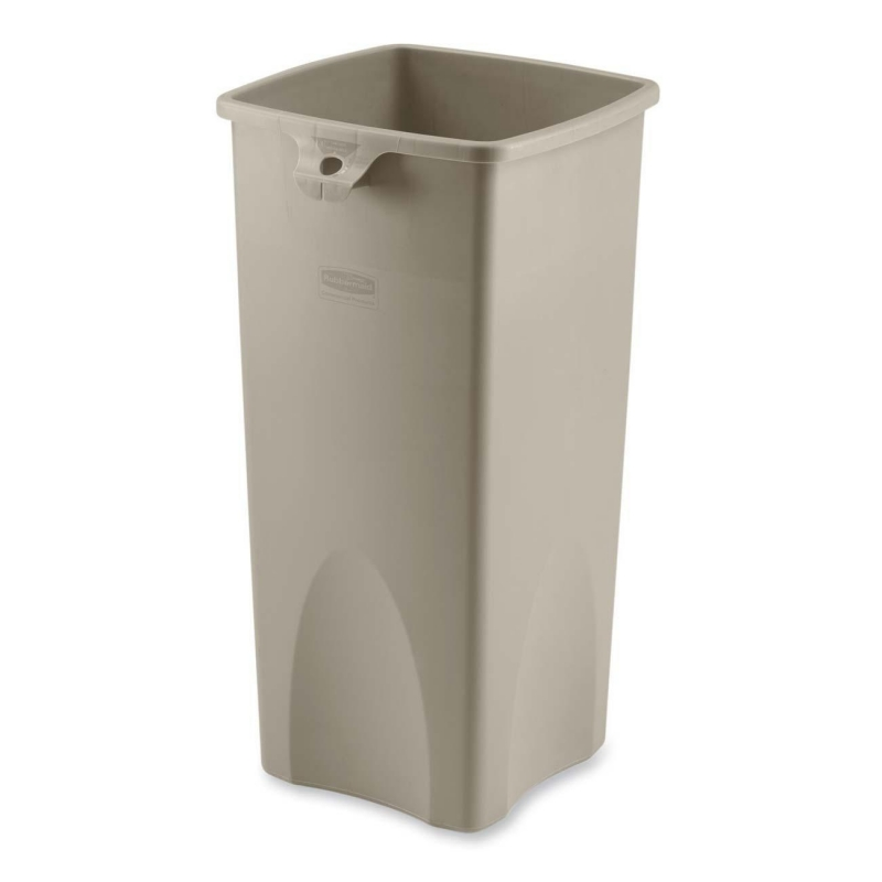 Rubbermaid Rubbermaid Square Waste Container 356988BG RCP356988BG 356988