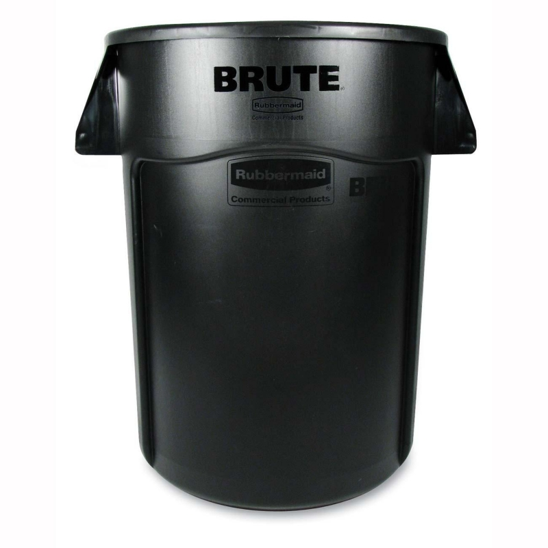 Rubbermaid Rubbermaid BRUTE 44-Gallon Waste Container 264360BK RCP264360BK 264360 BLA