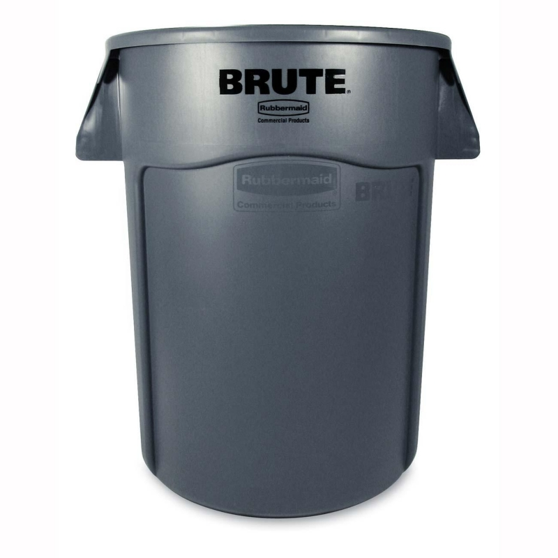 Rubbermaid Rubbermaid Brute 2643-60 44-Gallon Waste Container 264360GY RCP264360GY 2643-60