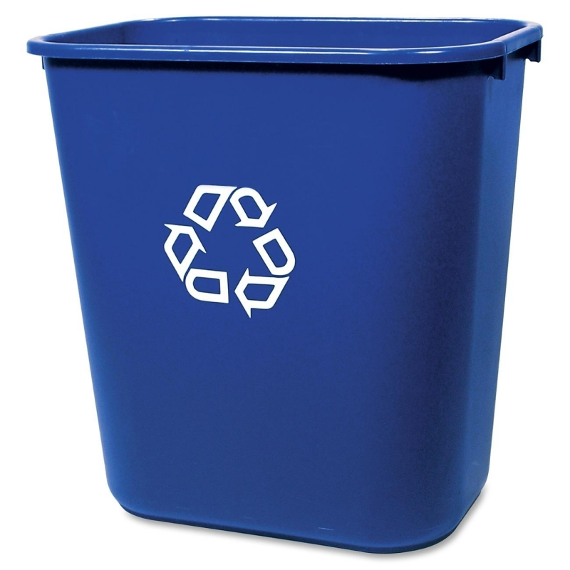 Rubbermaid Rubbermaid Deskside Recycling Container 295673BE RCP295673BE 295673