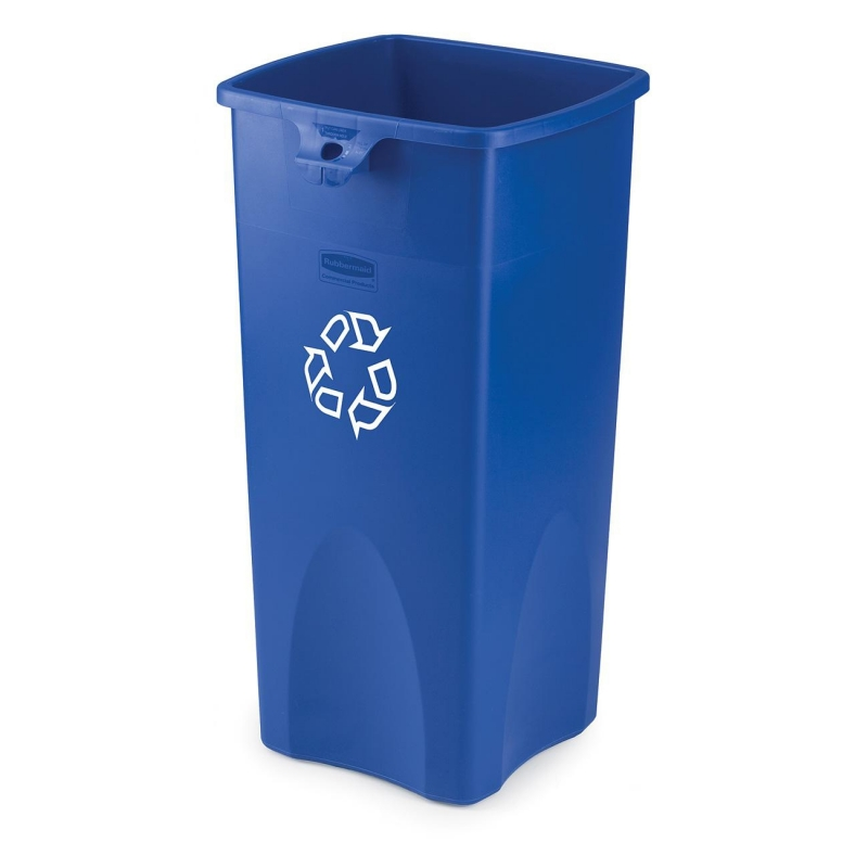 Rubbermaid Rubbermaid Square Recycling Container 356973BE RCP356973BE 356973