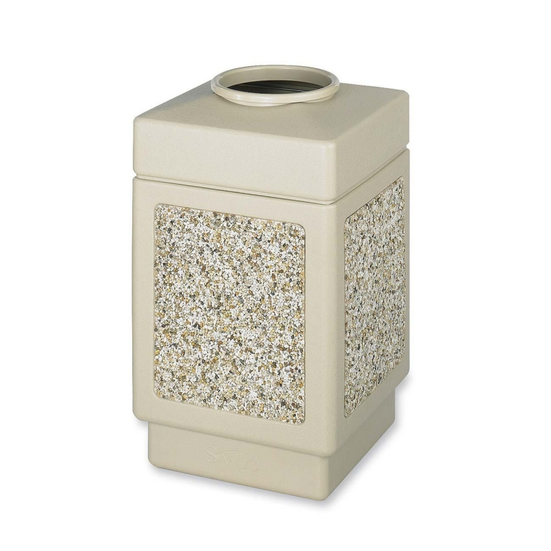 Safco Canmeleon Open Top Waste Receptacle 9471TN SAF9471TN