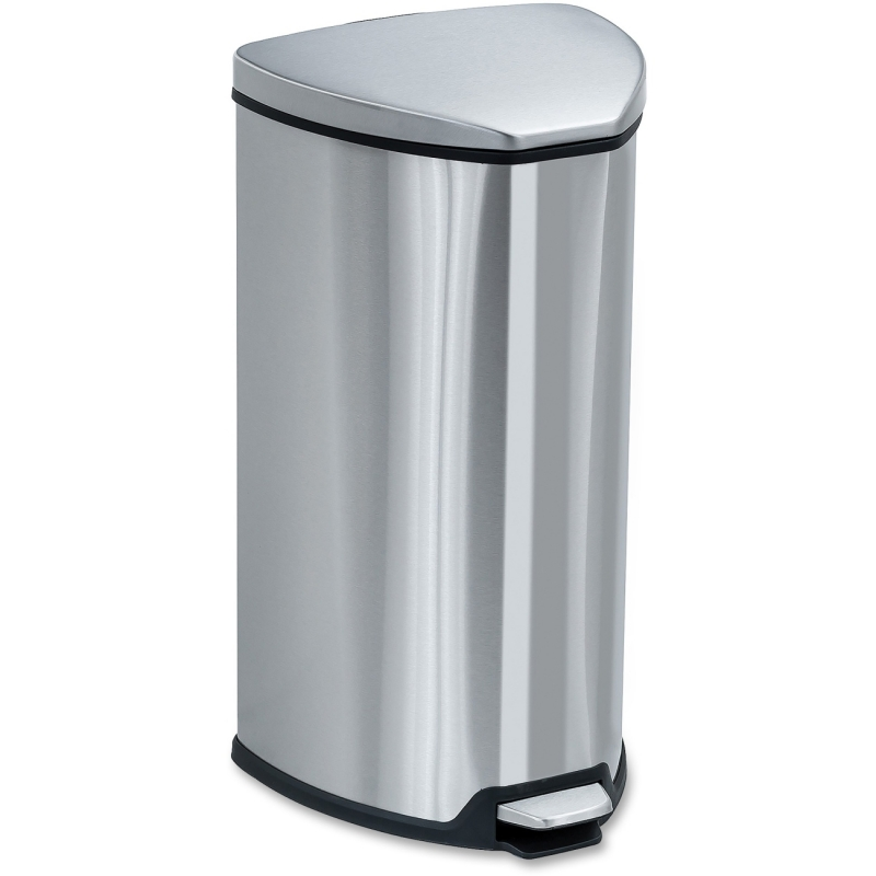 Safco Safco Step-On Waste Receptacle 9686SS SAF9686SS
