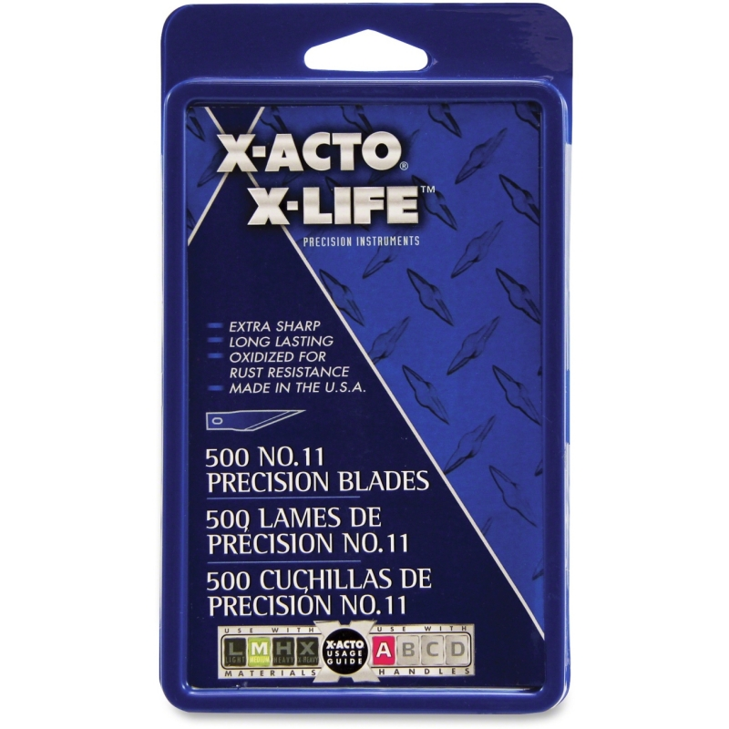 X-Acto No.11 Classic Fine Point X-Life Refill Blade X511 EPIX511