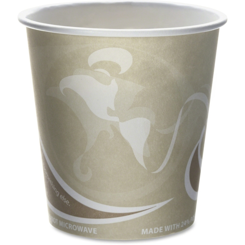 Eco-Products Eco-Products Evolution World PCF Hot Cups EPBRHC10EW ECOEPBRHC10EW
