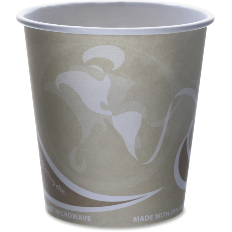 Eco-Products Eco-Products Evolution World PCF Hot Cups EPBRHC10EWPK ECOEPBRHC10EWPK