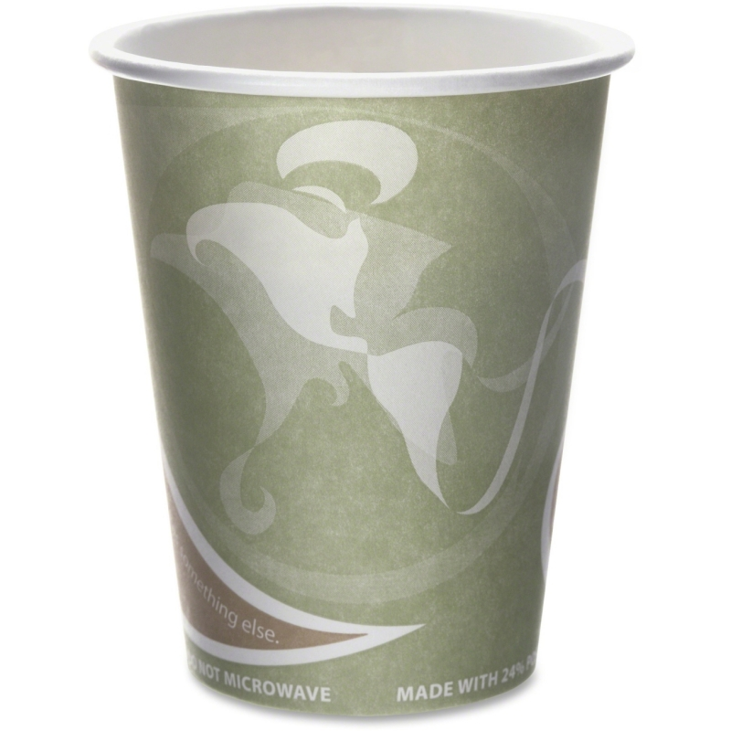 Eco-Products Eco-Products Evolution World PCF Hot Cups EPBRHC12EW ECOEPBRHC12EW