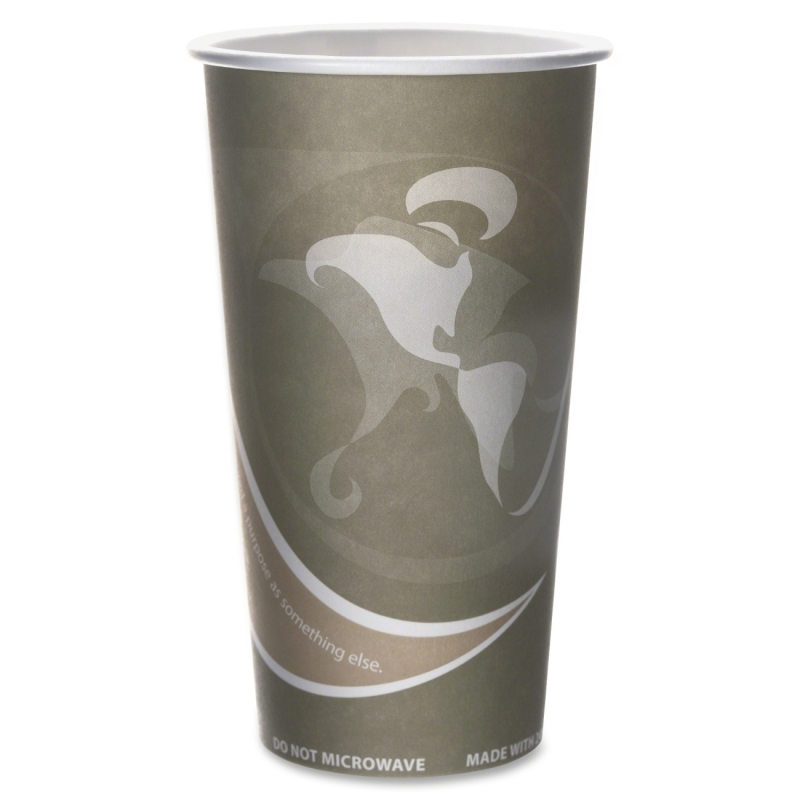 Eco-Products Eco-Products Evolution World PCF Hot Cups EPBRHC20EW ECOEPBRHC20EW