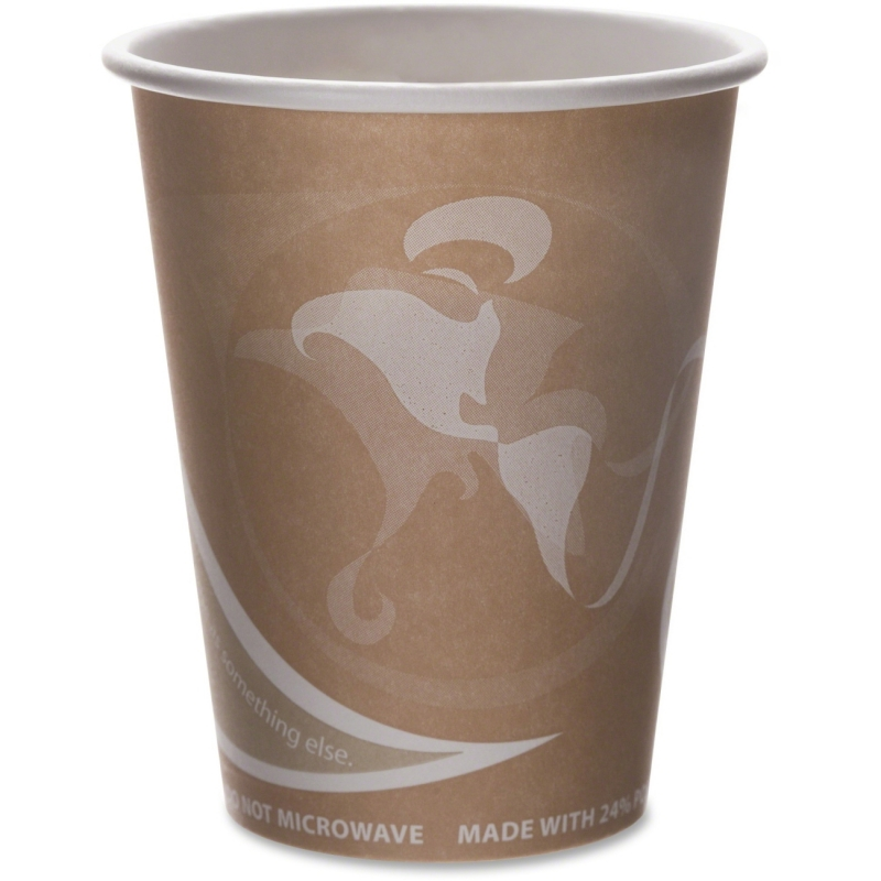 Eco-Products Eco-Products Evolution World PCF Hot Cups EPBRHC8EWPK ECOEPBRHC8EWPK