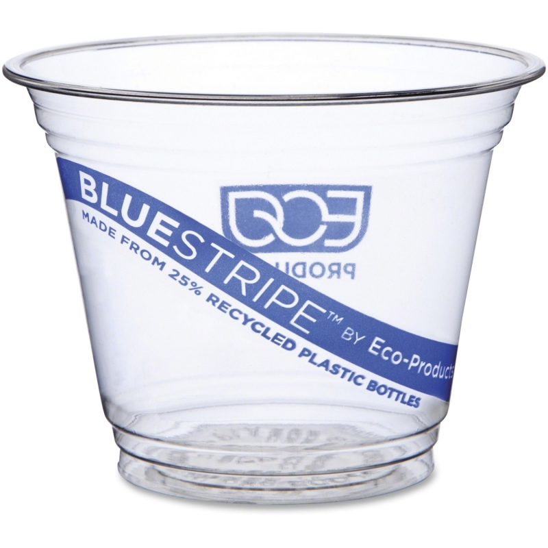 Eco-Products Eco-Products BlueStripe Cold Cups EPCR9 ECOEPCR9