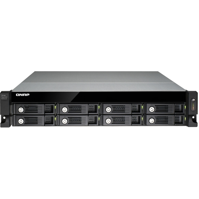QNAP Economical RAID Expansion Enclosure for Turbo NAS UX-800U-RP-US UX-800U-RP