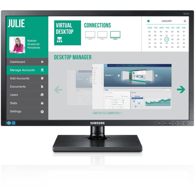 Samsung Cloud Display Zero Client NC241-TS