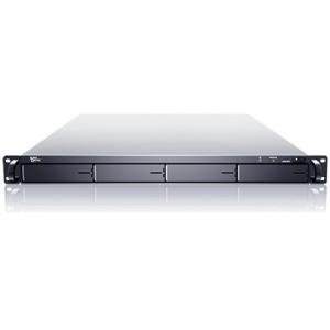 Sans Digital EliteSTOR - 1U 4 Bay Rackmount SATA to eSATA (x4) JBOD Storage (Black) KT-ES104T+B ES104T+B