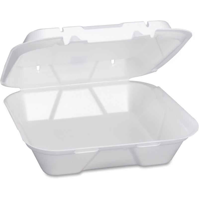 Genpak Large Snap It Foam Hinged Dinner Container SN200 GNPSN200