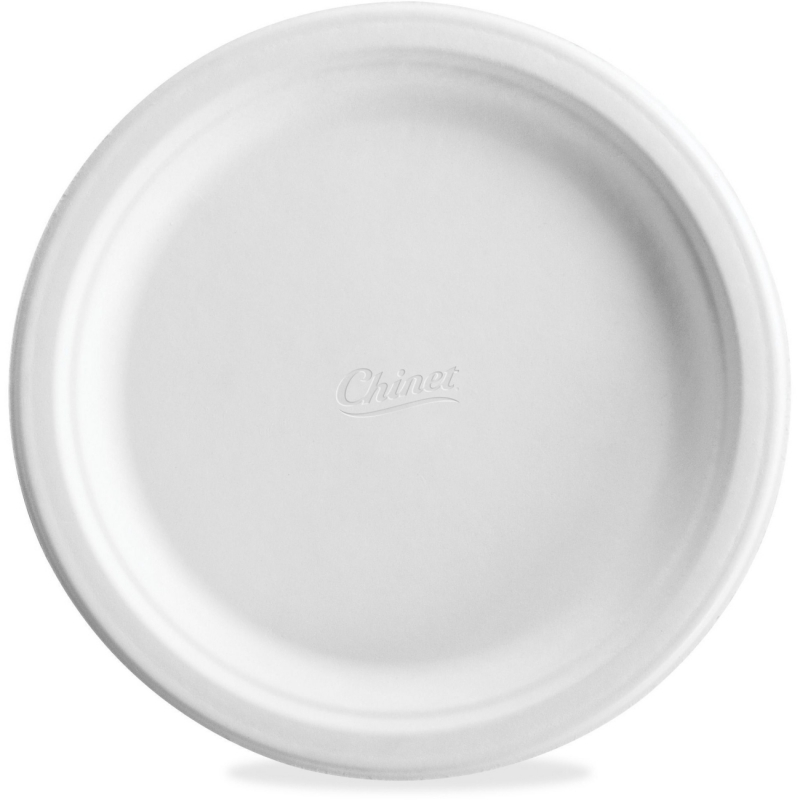 Chinet Classic White Molded Plates CH21227 HUHCH21227