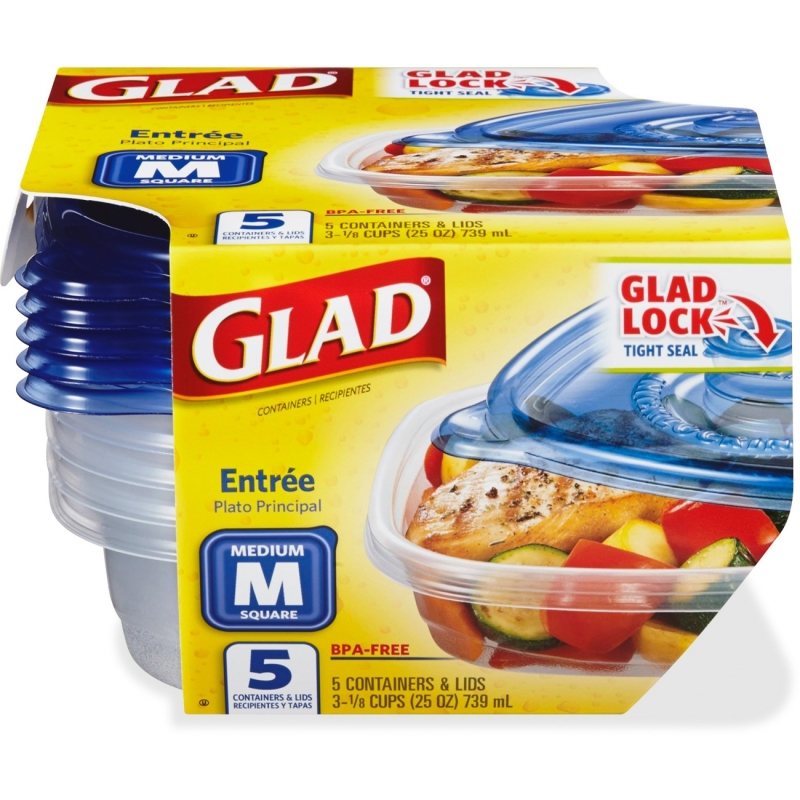 Glad 25-oz. Food Containers 60795 CLO60795