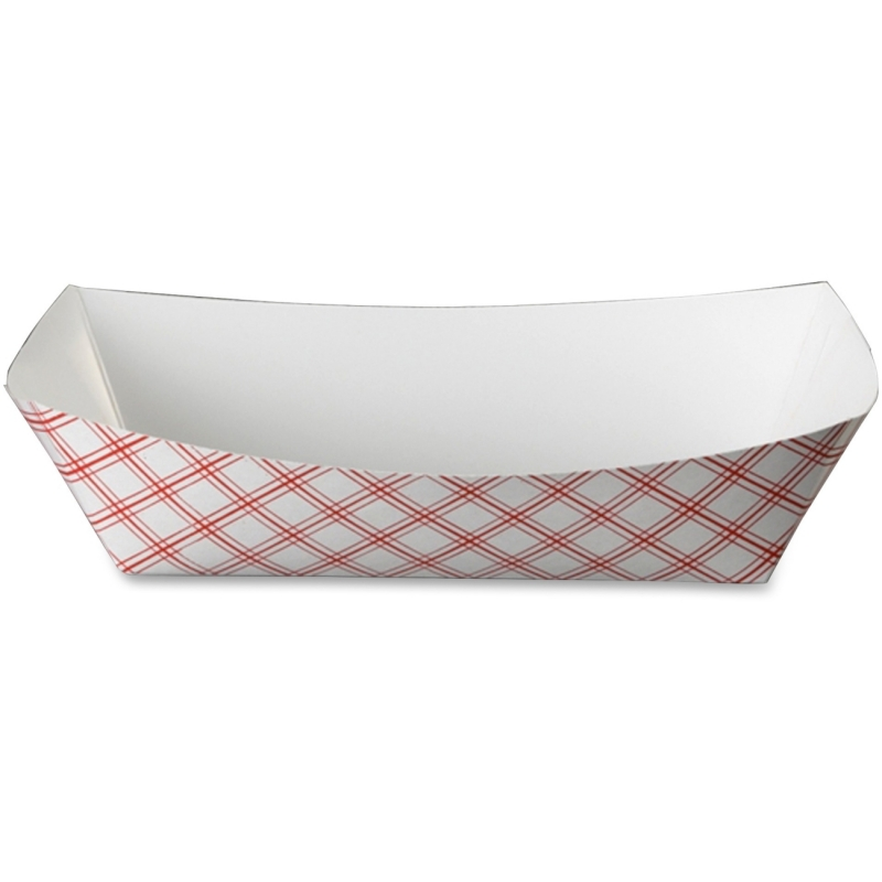 SQP 2.5 lb. Capacity Paper Food Baskets 30LAG250 SQP30LAG250