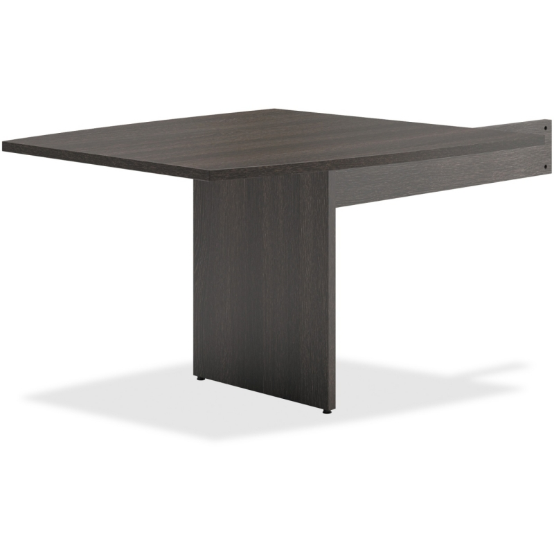 Basyx by HON Espresso Slab Base End Table BLMT48BESES BSXBLMT48BESES