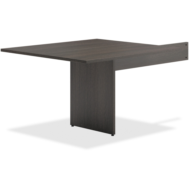 Basyx by HON Espresso Slab Base End Table BLMT48RESES BSXBLMT48RESES