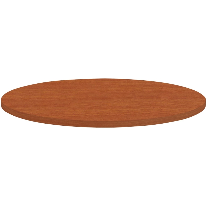 Lorell Round Invent Tabletop - Cherry 62573 LLR62573