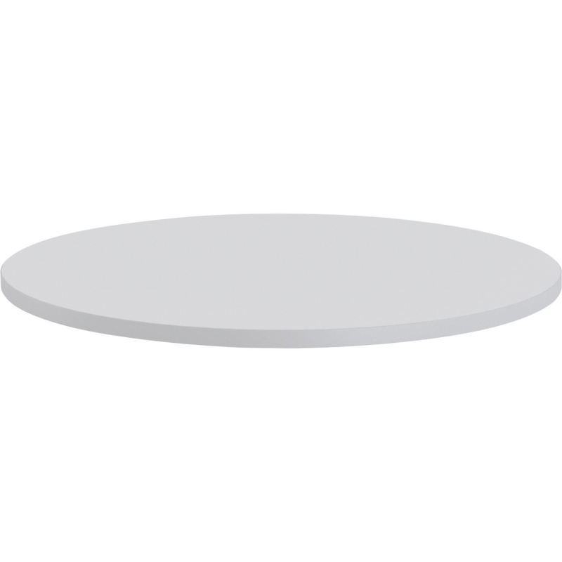 Lorell Round Invent Tabletop - Light Gray 62579 LLR62579