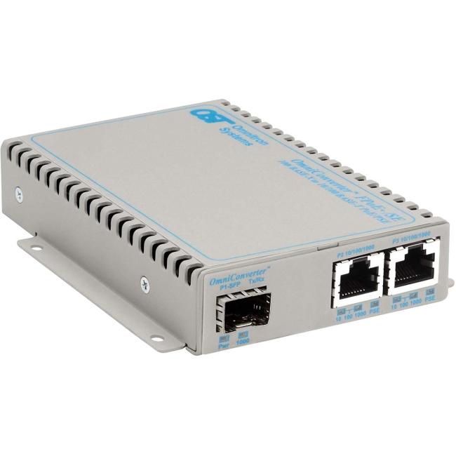 Omnitron 10gbase T Ethernet Media Converter 8589n 0 D
