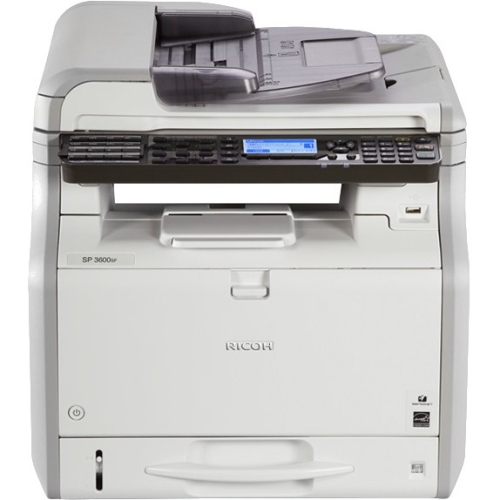 Ricoh Black and White Multifunction Printer 407307 SP 3600SF