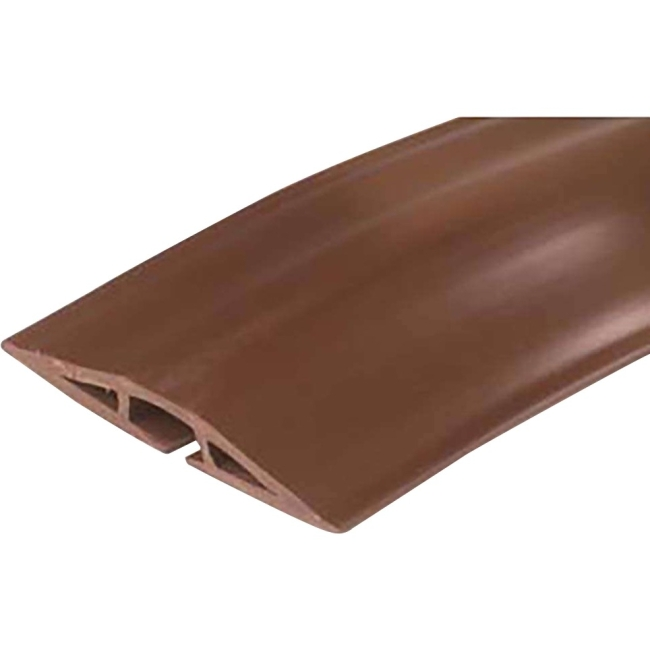 C2G 15ft Wiremold Corduct Overfloor Cord Protector - Brown 16330