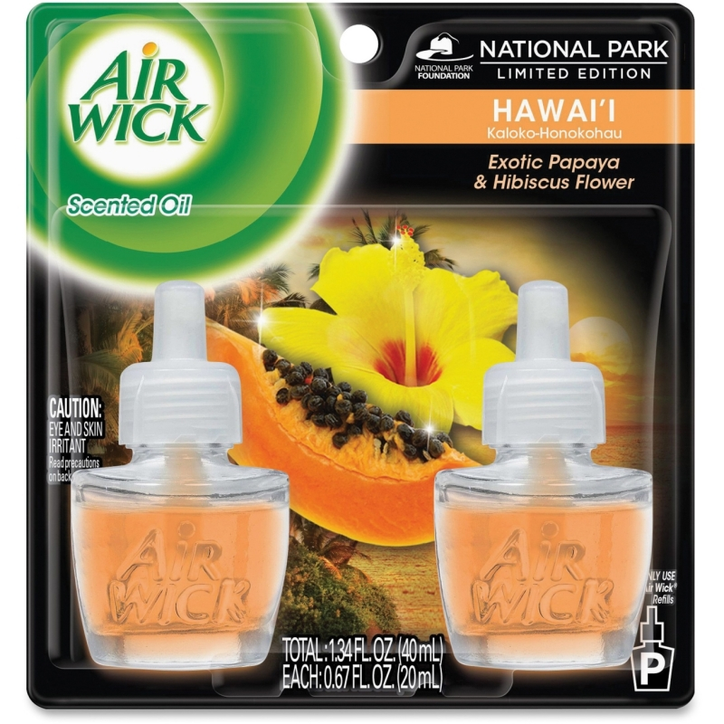 Airwick Papaya Scented Oil Warmer Refill 85175 RAC85175