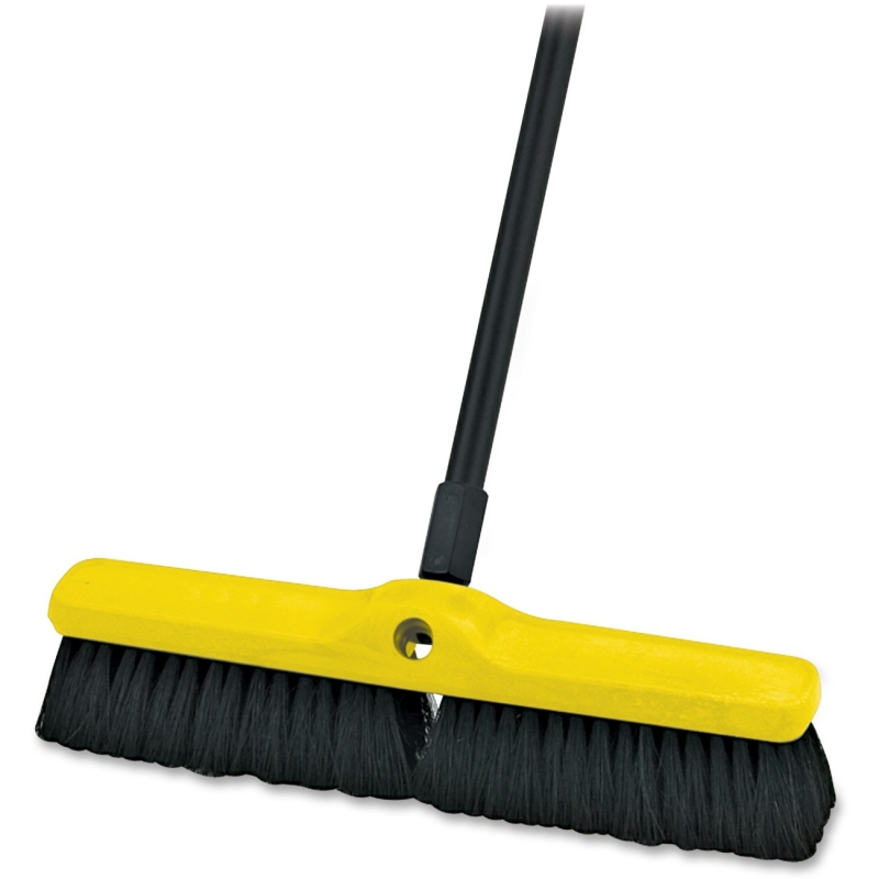 Rubbermaid Commercial Plastic Foam Block Broom Head 9B0700BK RCP9B0700BK