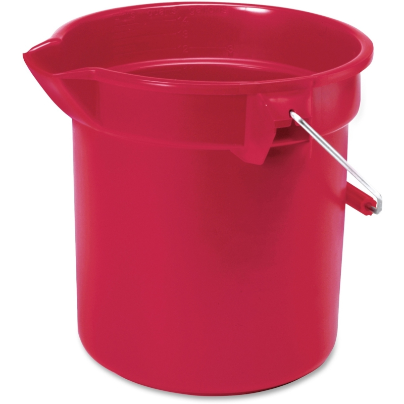Rubbermaid Commercial Brute Utility Bucket 296300RD RCP296300RD