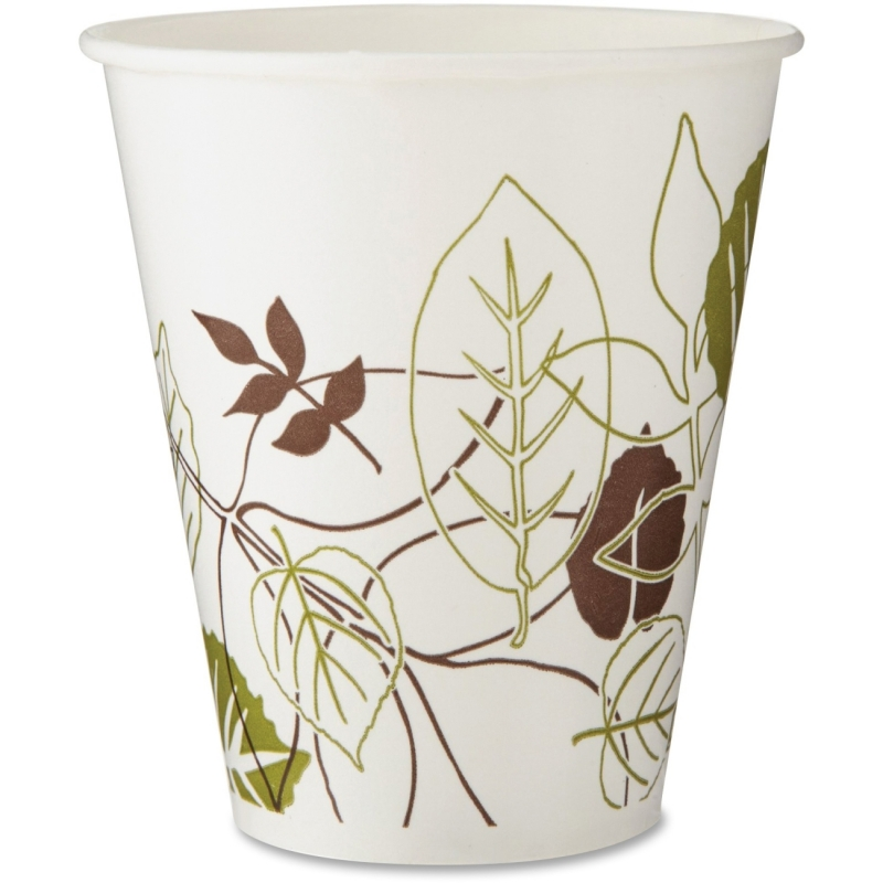 Dixie Pathways Poly Paper Cold Cups 12FPPATH DXE12FPPATH