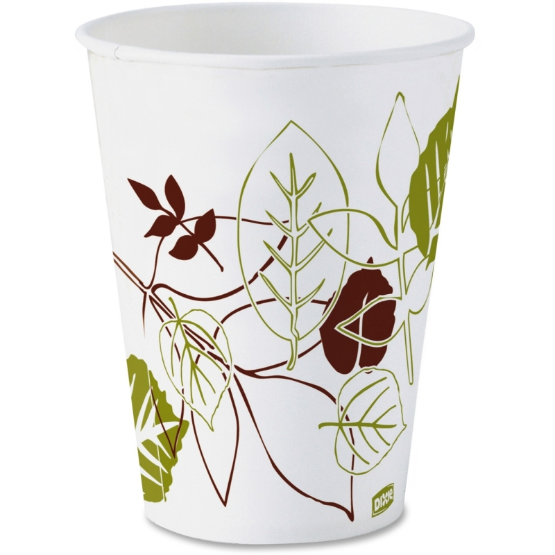 Dixie Pathways Design Paper Cold Cups 45PATH DXE45PATH