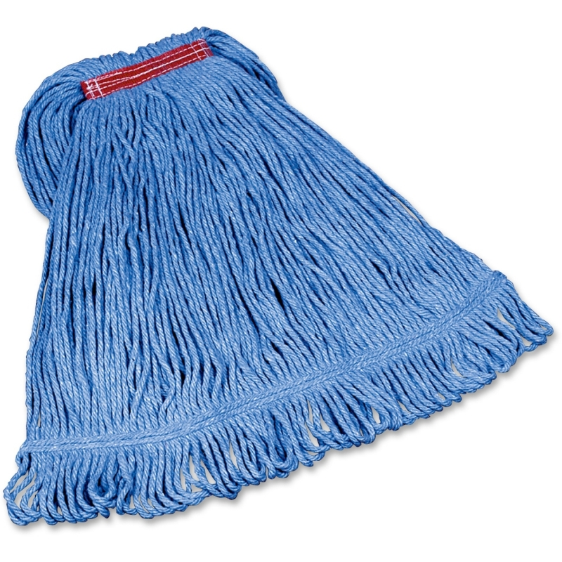 Rubbermaid Commercial Super Stitch Cotton Synthetic Mop D21306BL00 RCPD21306BL00