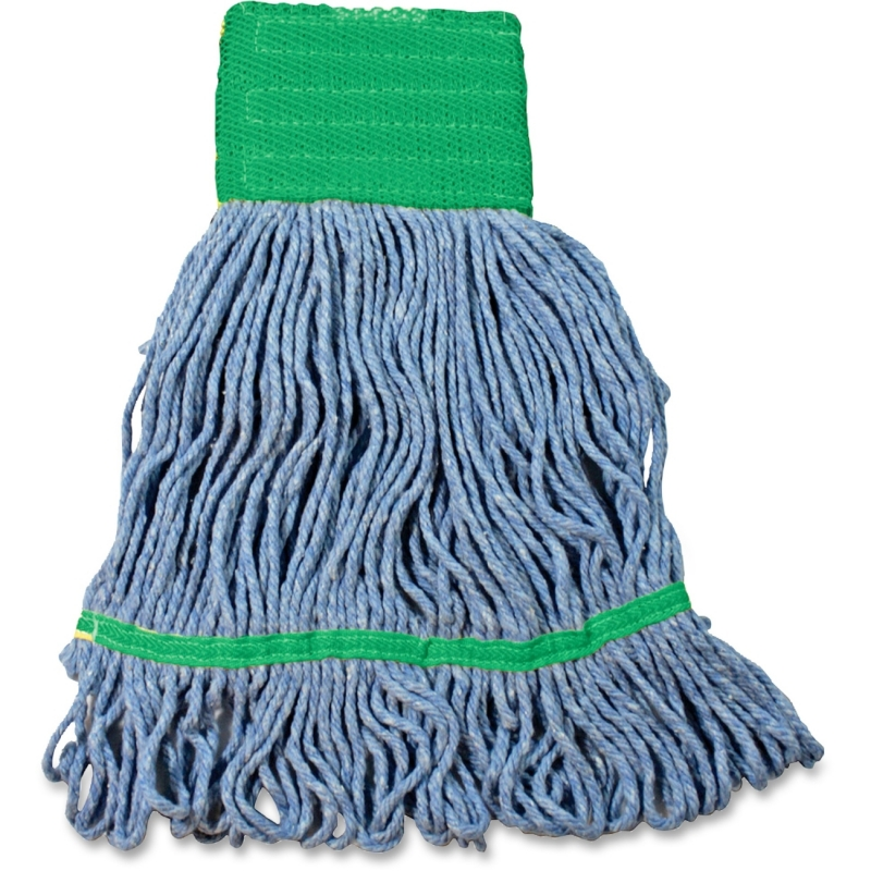 Impact Products Cotton/Synthetic Blend Saddle-Type Looped-End Wet Mop with Tailband L270MD IMPL270MD