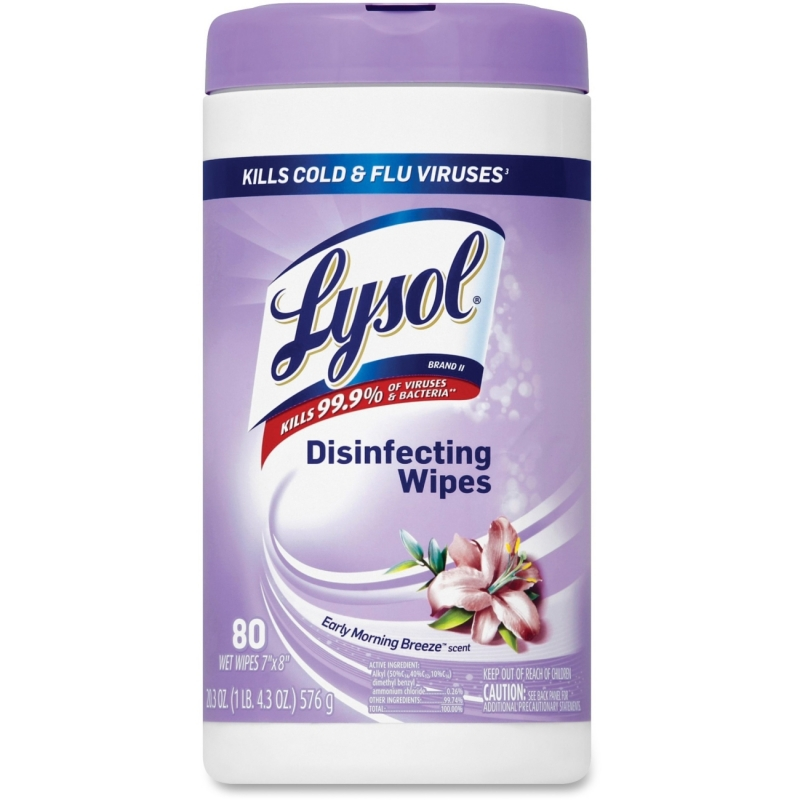 Lysol Disinfecting Wipes - Early Morning Breeze 89347CT RAC89347CT