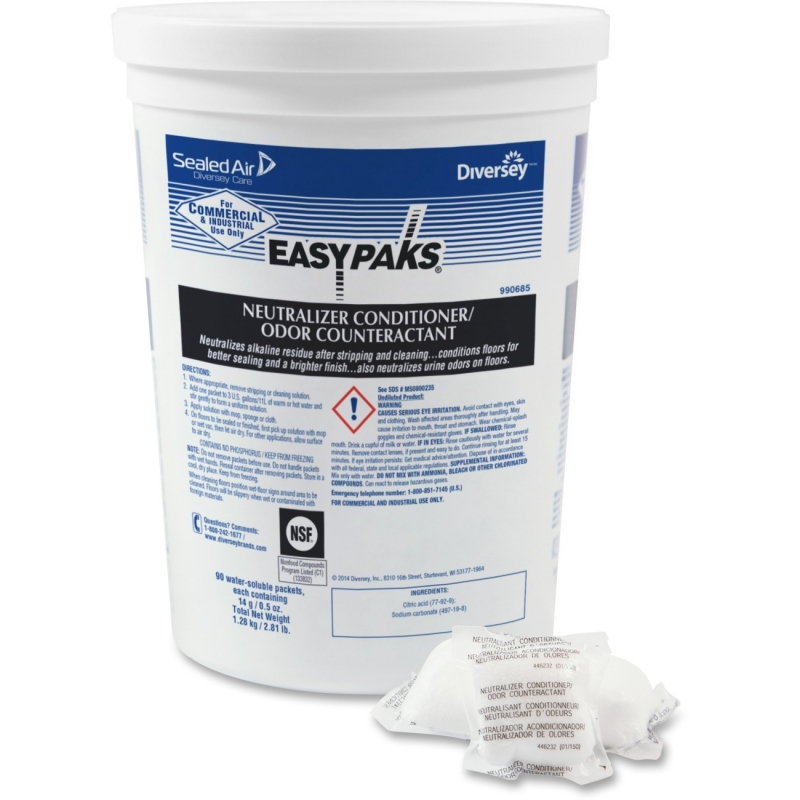 Diversey Easy Paks Neutral All-Purpose Cleaner 990685 DVO990685