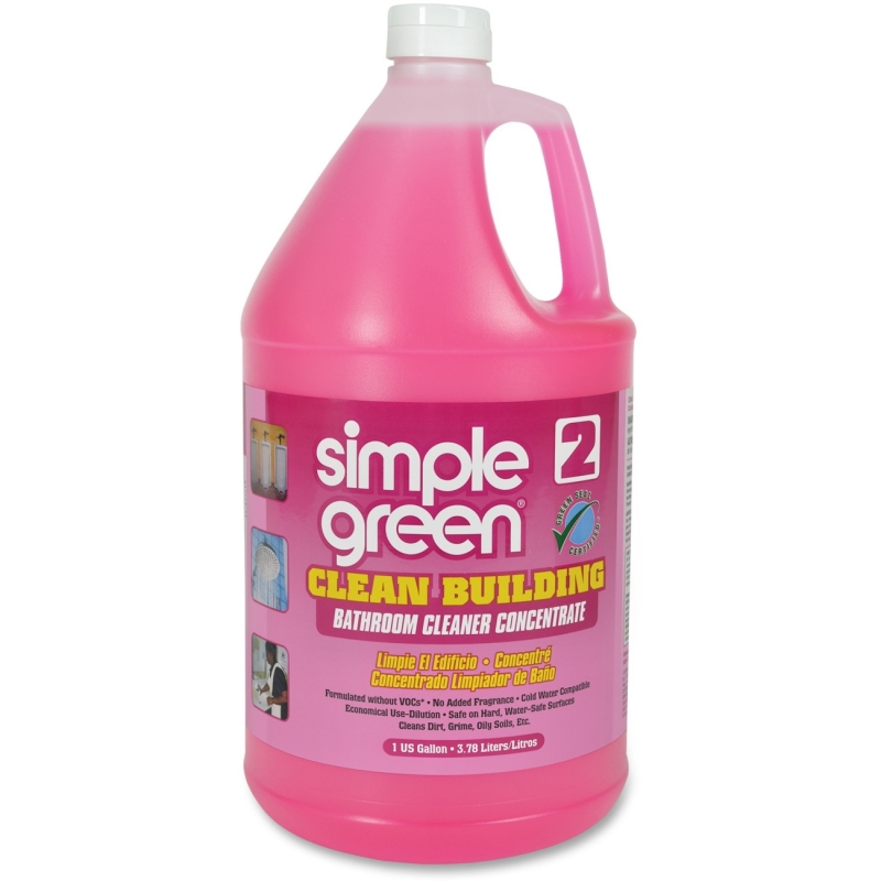 Simple Green Clean Building Bathroom Cleaner Concentrate 11101CT SMP11101CT