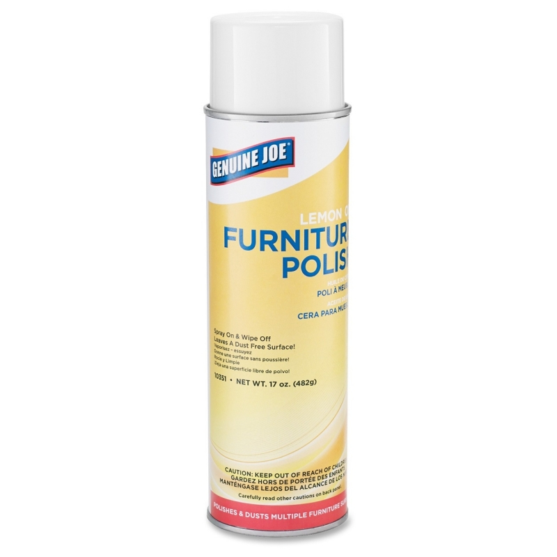 Genuine Joe Furniture Polish 10351CT GJO10351CT