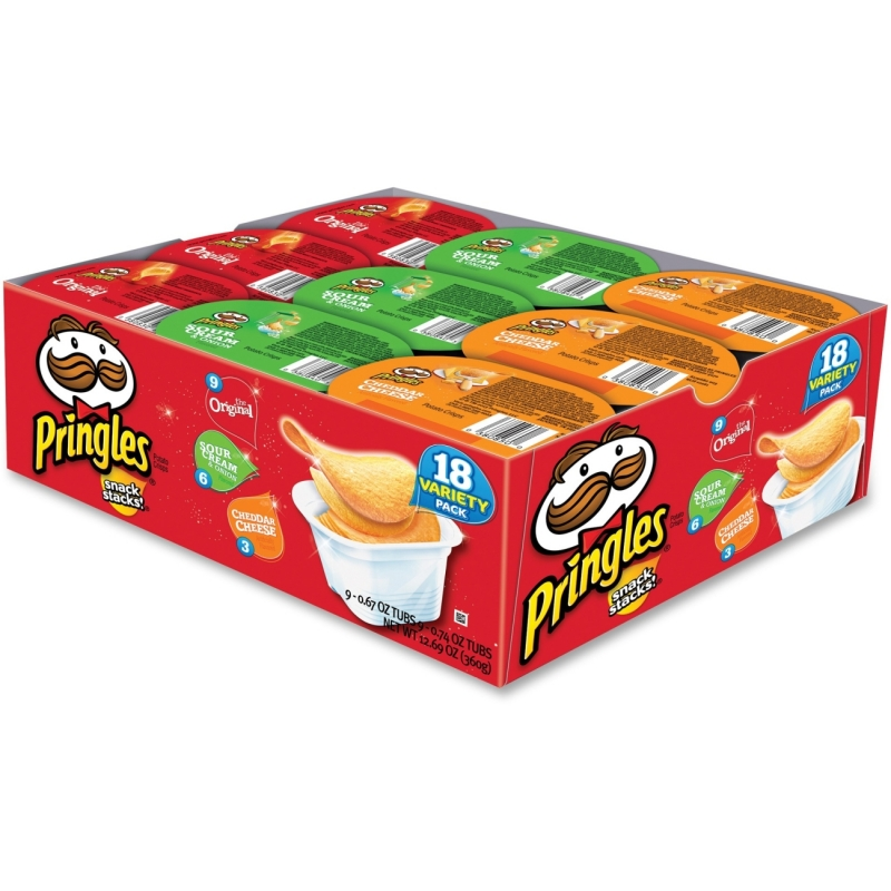 Pringles Potato Crisps Variety Snack Pack 84637 KEB84637