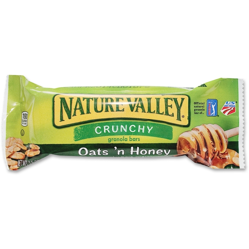NATURE VALLEY Oats And Honey Crunchy Granola Bars SN3353CT GNMSN3353CT