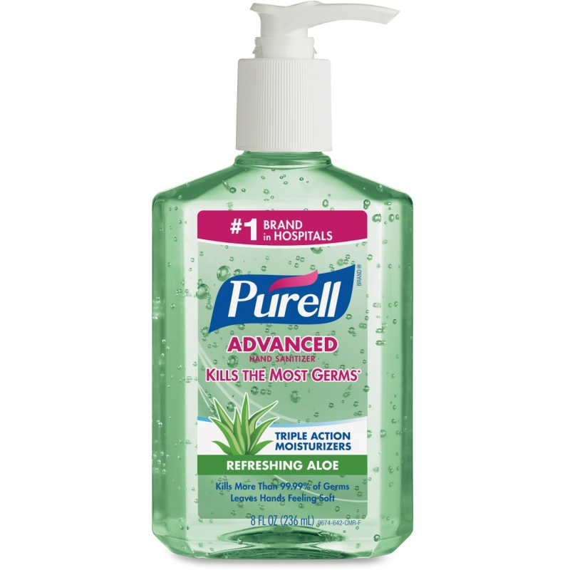 Purell Advanced With Aloe Instant Hand Sanitizer 967412CT GOJ967412CT