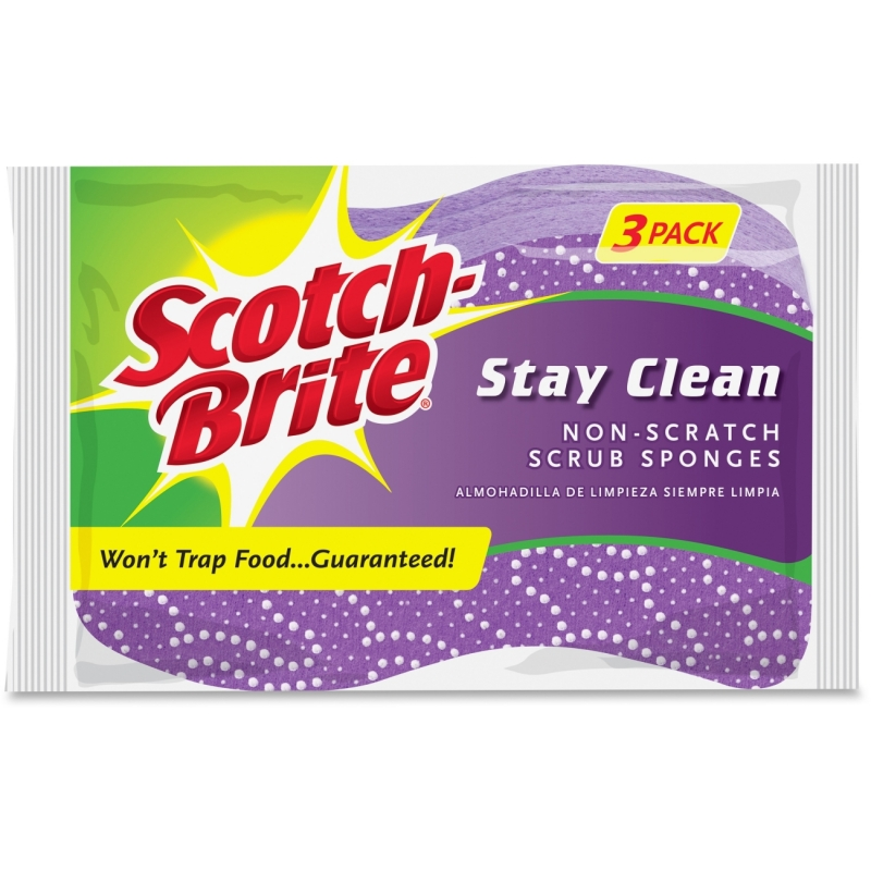 Scotch-Brite Stay Clean Scrub Sponge 202038 MMM202038